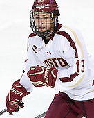 Johnny Gaudreau (BC - 13) - The Boston College Eagles defeated the visiting University of Massachusetts Lowell River Hawks 6-3 on Sunday, October 28, 2012, at Kelley Rink in Conte Forum in Chestnut Hill, Massachusetts.