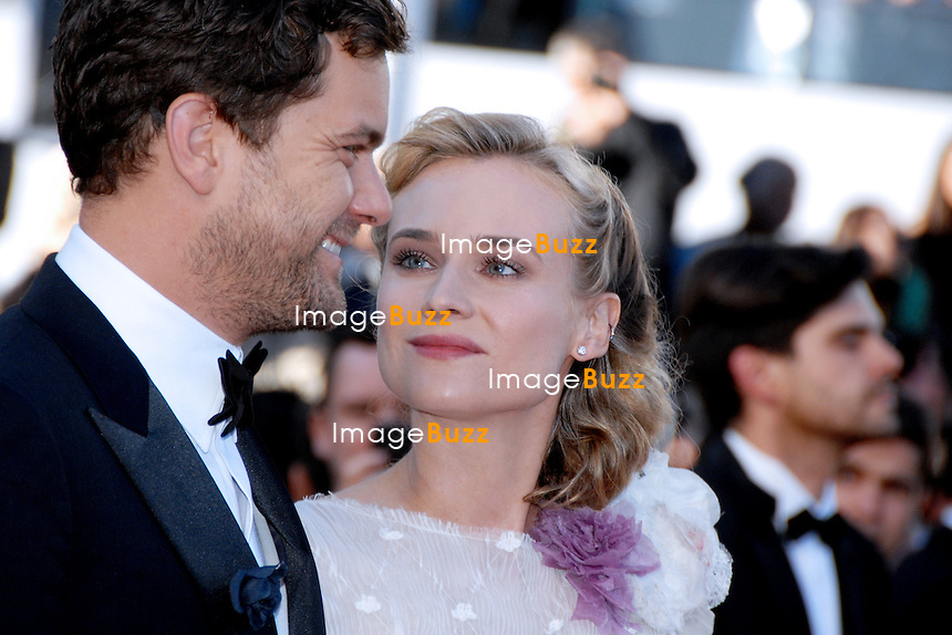"Diane Kruger and Joshua Jackson attend the "" Killing them softly "" premiere at the 65th Cannes Film Festival at the Palais des Festivals..May 22, 2012.- Cannes, France.."