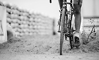 out of the sand section<br /> <br /> Jaarmarktcross Niel 2015  Junior Men's Race