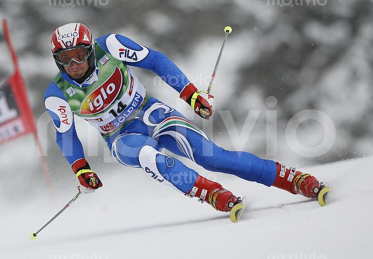Ski Alpin Weltcup  Saisonauftakt in Soelden , AUT Riesenslalom Herren 28.10.07 SCHIEPPATI, Alberto  (ITA)
