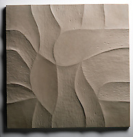 Giovanni Barbieri 24x24 inch Shades carved tile in Jasmine.