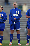 14 November 2014: South Dakota State's Jennie Scislow. The University of North Carolina Tar Heels hosted the South Dakota State University Jackrabbits at Fetzer Field in Chapel Hill, NC in a 2014 NCAA Division I Women's Soccer Tournament First Round match. UNC won the game 2-0.