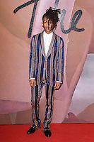 Jaden Smith at the Fashion Awards 2016 at the Royal Albert Hall, London. December 5, 2016<br /> Picture: Steve Vas/Featureflash/SilverHub 0208 004 5359/ 07711 972644 Editors@silverhubmedia.com