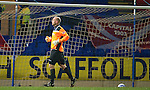 St Johnstone v Aberdeen...13.12.11   SPL .Peter Enckelman can't get back to stop Ryan Jacks goal after his mis-hit clearance.Picture by Graeme Hart..Copyright Perthshire Picture Agency.Tel: 01738 623350  Mobile: 07990 594431