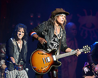 FORT LAUDERDALE FL - AUGUST 12: Ryan Roxie and Alice Cooper perform at The Broward Center on August 12, 2016 in Fort Lauderdale, Florida. Credit: mpi04/MediaPunch