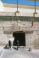 May 7th, 1987. In Melilla, Spanish Morocco. Headquarter of the Spanish Military Force in Melilla La Vieja Area. The Spanish established themselves in Melilla, in 1497.