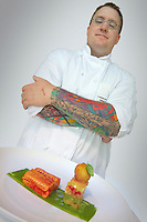 Vancouver, BC, Canada, August 2006. The Colourful chef of famous C Restaurant. Squeezed in between the Rocky Mountains and the Pacific Ocean, Vancouver has a special feel. Photo by Frits Meyst/Adventure4ever.com