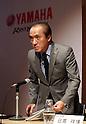 Yamaha Motor president Hiroyuki Yanagi announces 2016 results