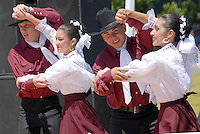Grupo Folkl&oacute;rico Mexcaltit&aacute;n perform at Virginia Avenue Park during the Fourth Annual Cinco De Mayo Fiesta on Sunday, May 2, 2010.
