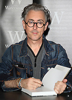 Alan Cumming signs copies of his new memoir, 'You Gotta Get Bigger Dreams' at Waterstones Piccadilly,  London on October 8th 2016.<br /> CAP/ROS<br /> &copy;Steve Ross/Capital Pictures /MediaPunch ***NORTH AND SOUTH AMERICAS ONLY***