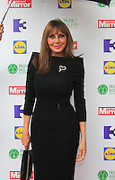 03/06/2014  <br /> Carol Vorderman<br /> during the Pride of Ireland awards at the Mansion House, Dublin.<br /> Photo: Gareth Chaney Collins