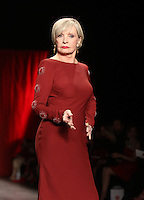 02 11, 2016: Florence Henderson at The American Heart Association's Go Red For Women Red Dress Collection During 2016/17 New York Fashion Week  at Skylight Moynihan Station in New York. Credit:RW/MediaPunch