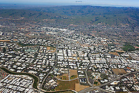 aerial photograph San Jose,Milpitas, Santa Clara county, California
