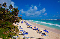 Crane Beach,  Barbados, Caribbean Sea, Atlantic Ocean,  Lesser Antilles, Rated one of the world's most beautiful beaches