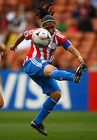 Evelyn Armoa (PAR)..FIFA U17 Women's World Cup, Paraguay v USA, Waikato Stadium, Hamilton, New Zealand, Sunday 2 November 2008. Photo: Renee McKay/PHOTOSPORT