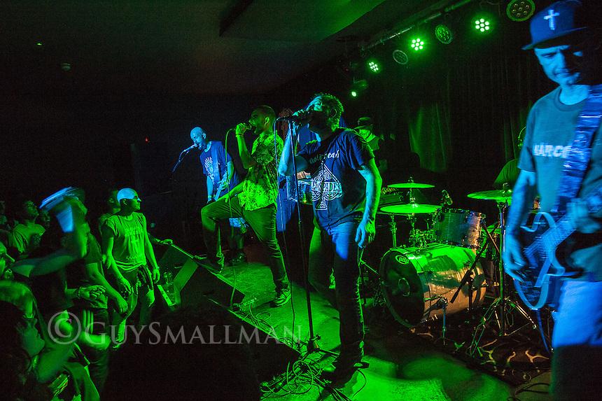 Spanish rap-metal band NARCO play the Nambucca club in Holloway 8-5-16