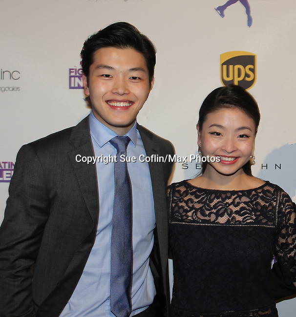 Alex and Maia Shibutani - Figure Skating in Harlem celebrates 20 years - Champions in Life benefit Gala on May 2, 2017 in New York Ciry, New York.   (Photo by Sue Coflin/Max Photos)
