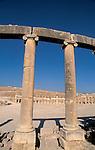 Jordan, Jerash. The Forum&amp;#xA;<br />