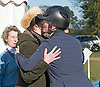 25.03.2017; Gatcombe, UK: PRINCESS ANNE KISSES DAUGHTER ZARA TINDALL<br />during the presentation of prizes at the Gatcombe Horse Trials.<br />The 2-day horse trials are held on Princess Anne&rsquo;s estate in Minchinhampton, Gloucestershire<br />Mandatory Photo Credit: &copy;Francis Dias/NEWSPIX INTERNATIONAL<br /><br />IMMEDIATE CONFIRMATION OF USAGE REQUIRED:<br />Newspix International, 31 Chinnery Hill, Bishop's Stortford, ENGLAND CM23 3PS<br />Tel:+441279 324672  ; Fax: +441279656877<br />Mobile:  07775681153<br />e-mail: info@newspixinternational.co.uk<br />Usage Implies Acceptance of OUr Terms &amp; Conditions<br />Please refer to usage terms. All Fees Payable To Newspix International