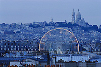 2000, Paris, France --- Grand Roue Ferris Wheel --- Image by © Owen Franken/CORBIS