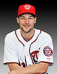 25 February 2011: Washington Nationals' outfielder Jonathan Van Every poses for his Photo Day portrait at Space Coast Stadium in Viera, Florida. Mandatory Credit: Ed Wolfstein Photo