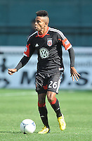 Lionad Pajoy (26) of D.C. United. The Columbus Crew defeated D.C. United 2-1 ,at RFK Stadium, Saturday March 23,2013.