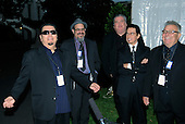 "Washington, DC - October 13, 2009 -- Musicians Los Lobos attend a White House Music Series ""Fiesta Latina"" on the South Lawn of the White House in Washington on Tuesday, October 13, 2009. .Credit: Alexis C. Glenn / Pool via CNP"