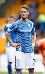 St Johnstone v Dundee United...26.09.15  SPFL   McDiarmid Park, Perth<br /> Chris Millar<br /> Picture by Graeme Hart.<br /> Copyright Perthshire Picture Agency<br /> Tel: 01738 623350  Mobile: 07990 594431