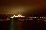Stroll by night in Newport, Rhode Island.