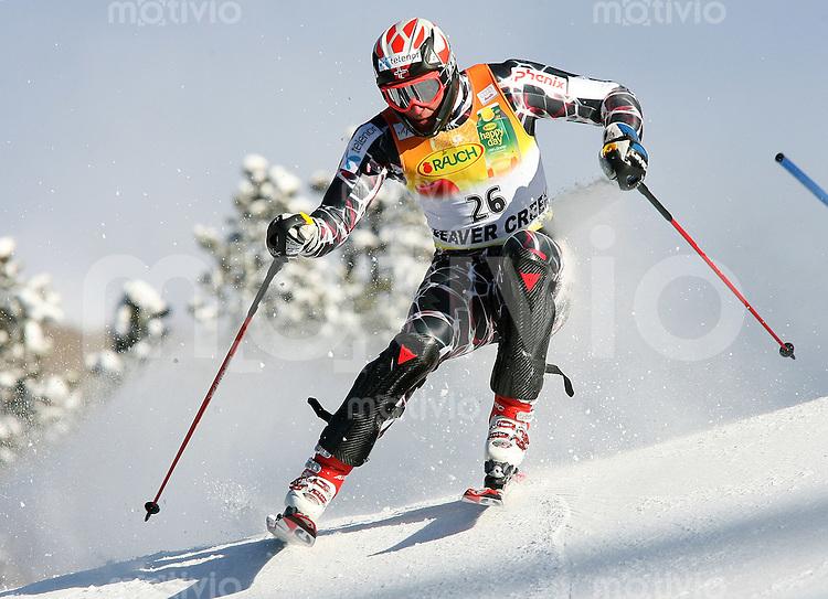 Ski Alpin; Saison 2006/2007   Slalom  Abfahrt Sieger Aksel Lund Svindal (NOR)