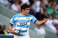 Gaspar Baldunciel of Argentina U20. World Rugby U20 Championship 3th Place Play-Off between Argentina U20 and South Africa U20 on June 25, 2016 at the AJ Bell Stadium in Manchester, England. Photo by: Patrick Khachfe / Onside Images