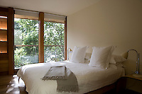 In each bedroom furnishings have been left to the barest minimum to create a feeling of peace and tranquillity