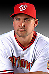 25 February 2007: Washington Nationals third baseman Ryan Zimmerman poses for his Photo Day portrait at Space Coast Stadium in Viera, Florida.<br /> <br /> Mandatory Photo Credit: Ed Wolfstein Photo<br /> <br /> Note: This image is available in a RAW (NEF) File Format - contact Photographer.