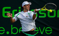 Horacio ZEBALLOS (ARG) against Tomas BERDYCH (CZE) in the third round of the men's singles. Tomas Berdych beat Horacio 6.Zeballos 6-4 7-5..International Tennis - 2010 ATP World Tour - Sony Ericsson Open - Crandon Park Tennis Center - Key Biscayne - Miami - Florida - USA - Mon 29th Mar 2010..© Frey - Amn Images, Level 1, Barry House, 20-22 Worple Road, London, SW19 4DH, UK .Tel - +44 20 8947 0100.Fax -+44 20 8947 0117