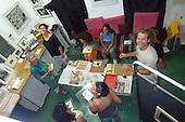Photogram Workshop at Silver Print Gallery, Ein Hod