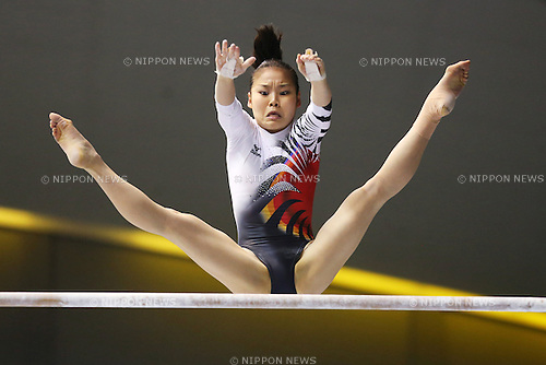 Yu Minobe (JPN), .April 6, 2013 - Artistic Gymnastics : .FIG Artistic Gymnastics World Cup, Tokyo Cup 2013 .Women's Individual All-round 1st Day .at Komazawa Gymnasium, Tokyo, Japan. .(Photo by Daiju Kitamura/AFLO SPORT) [1045]