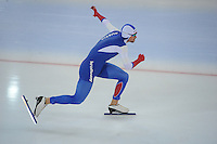 SPEED SKATING: HAMAR: Vikingskipet, 04-03-2017, ISU World Championship Allround, 500m Men, Denis Yuskov (RUS),  ©photo Martin de Jong