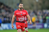 Sebastien Tillous-Borde of Toulon looks on. European Rugby Champions Cup match, between Bath Rugby and RC Toulon on January 23, 2016 at the Recreation Ground in Bath, England. Photo by: Patrick Khachfe / Onside Images