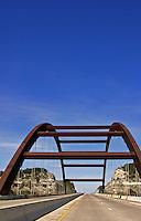 Driving under the 360 Bridge - Capital of Texas Highway