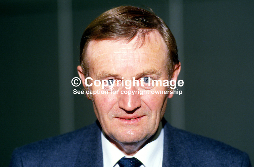 Patrick Wall, MP, Labour Party, UK, 19870924PW1..Copyright Image from Victor Patterson, 54 Dorchester Park, Belfast, UK, BT9 6RJ..Tel: +44 28 9066 1296.Mob: +44 7802 353836.Voicemail +44 20 8816 7153.Skype: victorpattersonbelfast.Email: victorpatterson@me.com.Email: victorpatterson@ireland.com (back-up)..IMPORTANT: If you wish to use this image or any other of my images please go to www.victorpatterson.com and click on the Terms & Conditions. Then contact me by email or phone with the reference number(s) of the image(s) concerned.