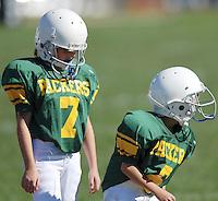 PeeWee Football - Falcons vs Packers Sept 22, 2007