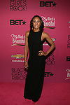 """Olympic Track and Field World Champion and Star of Glam And Gold Sanya Richards-Ross Attends """"BLACK GIRLS ROCK!"""" Honoring legendary singer Patti Labelle (Living Legend Award), hip-hop pioneer Queen Latifah (Rock Star Award), esteemed writer and producer Mara Brock Akil (Shot Caller Award), tennis icon and entrepreneur Venus Williams (Star Power Award celebrated by Chevy), community organizer Ameena Matthews (Community Activist Award), ground-breaking ballet dancer Misty Copeland (Young, Gifted & Black Award), and children's rights activist Marian Wright Edelman (Social Humanitarian Award) Hosted By Tracee Ellis Ross and Regina King Held at NJ PAC, NJ"""