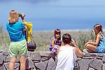 Tourists At Mono Lake