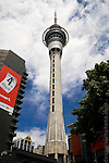 Sky Tower, Auckland, New Zealand, highest building in the southern hemisphere.