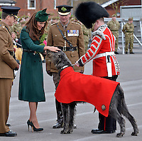 Kate, Duchess of Cambridge & Prince William attend St; patrick's Day - UK