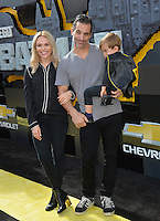 Johnathon Schaech &amp; Julie Solomon &amp; Camden Quinn Schaech at the world premiere of &quot;The Lego Batman Movie&quot; at the Regency Village Theatre, Westwood, Los Angeles, USA 4th February  2017<br /> Picture: Paul Smith/Featureflash/SilverHub 0208 004 5359 sales@silverhubmedia.com