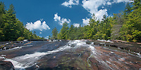 Bridal View Falls in DuPont State Forest NC.