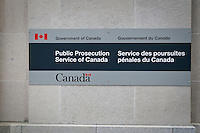 Government of Canada Public Prosecution Service of Canada office is seen in Ottawa Sunday September 26, 2010.