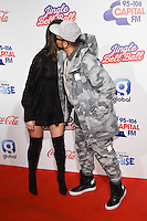 LONDON, UK. December 3, 2016: Dua Lipa &amp; Sean Paul at the Jingle Bell Ball 2016 at the O2 Arena, Greenwich, London.<br /> Picture: Steve Vas/Featureflash/SilverHub 0208 004 5359/ 07711 972644 Editors@silverhubmedia.com