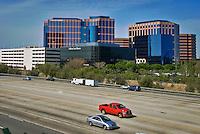CA 405 Freeway Irvine CA